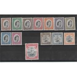 GRENADA 1953 EFFIGIE E CARAVELLA   13V YVERT 162-174 MNH MF50794