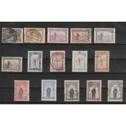 1895 PORTOGALLO PORTUGAL SANT ANTONIO  15 VAL. USATI  MF50873