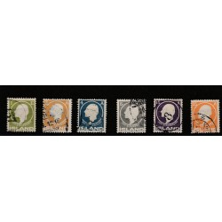 1911  ISLANDA ICELAND  GURDSSON  6 VAL USATI  MF50925