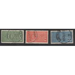 1929  DANIMARCA  LOTTA CANCRO 3 V USATI  MF50995