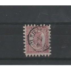 1866 / 70 FINLANDIA SUOMI STEMMA  INIF N° 9 - 1 VAL USATO MF51058