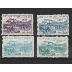 1955  VIETNAM DEL NORD  GOVERNO AD  HANOI -  4 VAL MLH  MF51025