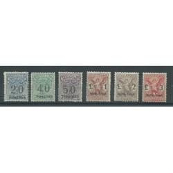 1924 TRIPOLITANIA SEGNATASSE VAGLIA SOPRASTAMPATI 6 V NUOVI MLH GAZZI MF25311