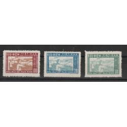 1957 VIETNAM  FILATURA DINAM-DINH 3 VAL MLH  SG MF51010