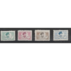 1956  VIETNAM DEL NORD  TRAN-DANG-NINH 4 VAL MNH  MF51024