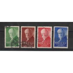 1937 NORVEGIA NORGE  PRO RIFUGIATI 4  V  UN  164/ 67  USATI  MF51128