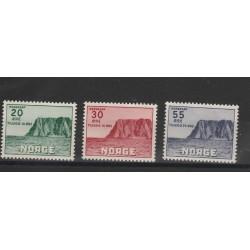 1953 NORVEGIA NORGE 3 V UNI 345-47 MNH MF51132