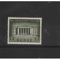 1941 NORVEGIA NORGE UNIVERSITA 1 V MNH UNIF 219  MF51135