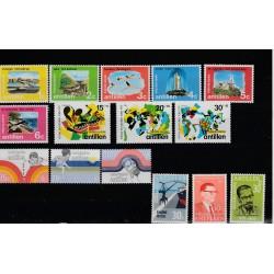 ANTILLE OLANDESI  ANNO 1972 NEDERLANDSE  15 VAL NUOVI MNH  MF51147
