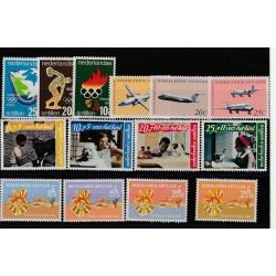 ANTILLE OLANDESI  ANNO 1968 NEDERLANDSE  14 VAL NUOVI MNH  MF51175