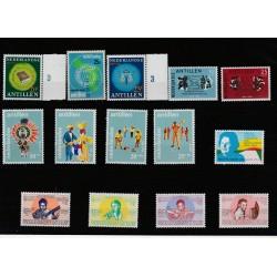 ANTILLE OLANDESI  ANNO 1969 NEDERLANDSE  14 VAL NUOVI MNH  MF51176