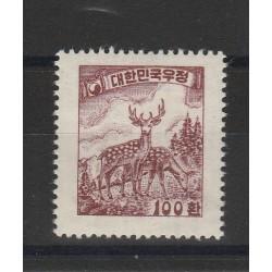 1956 COREA DEL SUD  CERVO YV 165 - 1 VAL NUOVI MLH MF50574