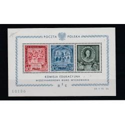 1946 POLONIA POLSKA POSTA AEREI SOPRA VARSAVIA  6 V MNH MF12175