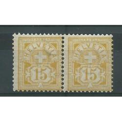 1882 / 1889 SVIZZERA CIFRA...