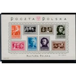 1948 POLONIA POLSKA  PERSONAGGI CELEBRI  1 BF  MNH MF51270