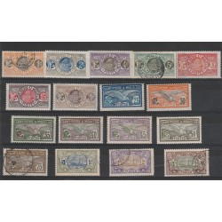 S PIERRE ET MIQUELON 1909-17  SOGGETTI VARI  17 V MISTI  MF 51295