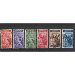 1935 VATICANO VATICAN CITY SERIE CONGRESSO GIURIDICO INTERN 6 VAL USATI MF51272