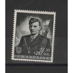 1944 CROAZIA JURE FRANCETIC  1VALORE  MNH   MF51338