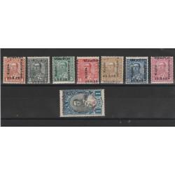 1928 ALBANIA  ASSEMBLEA COSTITUENTE 8 VAL MLH MF51385