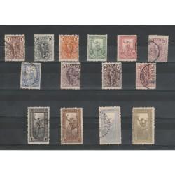 1901 GRECIA GREECE MERCURIO ALATO  14 V USATI MF51399