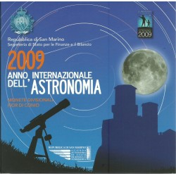 2009 SAN MARINO DIVISIONALE EURO 9 MONETE FDC IN CONFEZIONE MF25523