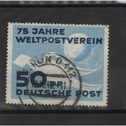 1949 GERMANIA DDR 75° UPU  1 VAL USATO  MF51428