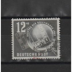 1949 GERMANIA DDR GIORNATA DEL FRANCOBOLLO 1 VAL USATO  MF51420