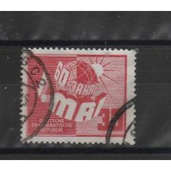 1950 GERMANIA DDR  1° MAGGIO 1 VAL USATO  MF51427