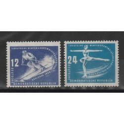1950 SPORT INVERNALI2  VAL NUOVI MNH MF51478