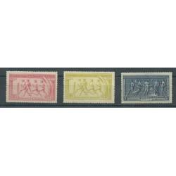 1906 GRECIA GREECE ALTI VALORI DECENNALE OLIMPIADI 3 V MNH DIENA MF25414