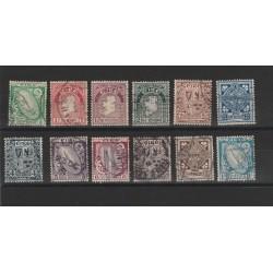 1922 - 23 IRLANDA  SOGGETTI VARI 12  VALORI USATI  MF51499