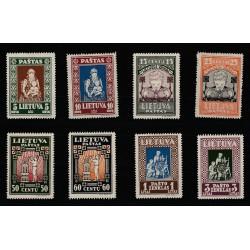 1933 LITUANIA LIETUVA PRO GIOVENTU  8 VALORI MNH MF51562