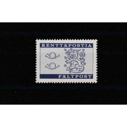 1963 FINLANDIA  PACCHI POSTALI  AUTOCORRIERA  4 VAL MNH  MF15013