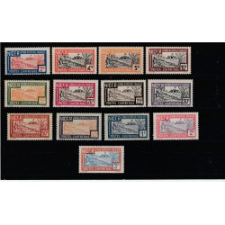 NIGER 1927 SEGNATASSE VEDUTA 13 VAL  MNH MF 51643