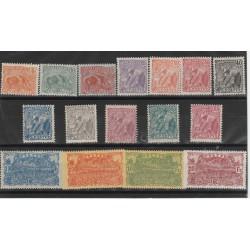 GUYANA FRANCESE GUYANE 1922-26 DEF VEDUTE VARIE 16 MLH YV 75-90 MF51705
