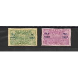 GUYANA FRANCESE GUYANE 1923 PIAZZA PALME 2 VAL  MLH YV 95/96 MF51706