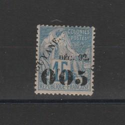 GUYANA FRANCESE GUYANE 1892 ALLEGORIA 1 MLH YV 29 MF51717
