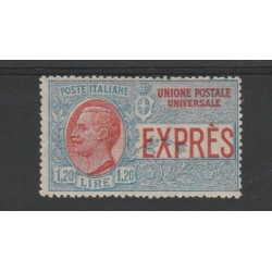 1922 REGNO ESPRESSO LIRE 1 20 NON EMESSO 1 VAL  NUOVO MNH  MF51692