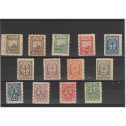 1923 LITUANIA LIETUVA  MEMELSOGGETTI VARI 13VAL MNH MF51895