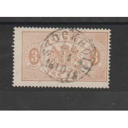 1874/86  SVEZIA SERVIZIO N 1B  - 1 V USATO  MF51857