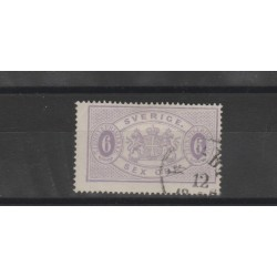 1874/86  SVEZIA SERVIZIO  N 4B  - 1 V USATO   MF51855