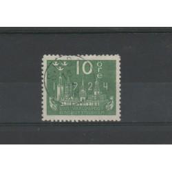1924 SVEZIA  8 CONGRESSO  UPU 1VAL USATO N° 193  MF51876