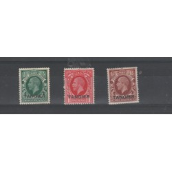 MAROCCO 1935  SOPRASTAMPA  TANGER 5/8  VAL MLH MF 51862