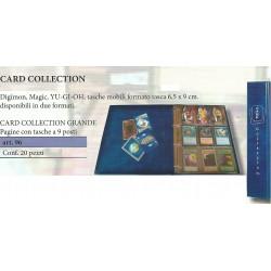 20 INSERTI - CARD COLLECTION GRANDE (YU-GI-HO - MAGIC)