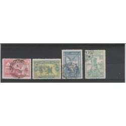 1900  BRAZIL BRASIL SCOPERTA DEL BRASILE  4 V USATI  MF51911