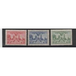 1936 AUSTRALIA  100°  SUD AUSTRALIA  3 VAL MLH MF51928