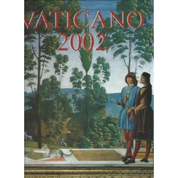 2002 VATICANO LIBRO UFFICIALE COMPLETO RACCOLTA EMISSIONI FILATELICHE MF25790