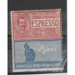 1924 REGNO PUBBLICITARI 60 CENT PERUGINA 1 VALORE MNH MF52000