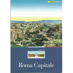 2011 ITALIA REPUBBLICA FOLDER ROMA CAPITALE MF25768