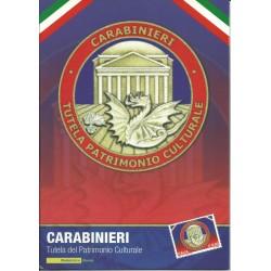 2009 REPUBBLICA ITALIANA FOLDER CARABINIERI TUTELA PATRIMONIO MF25767
